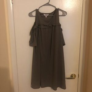 Lauren Conrad Cold Shoulder Dress
